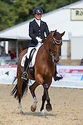 Sanne Henningsen - Superman W<br /> FEI World Breeding Dressage Championships for Young Horses 2012<br /> © DigiShots
