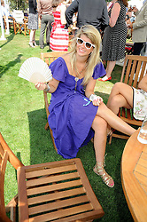 AMELIA BAMBERGER at the Cartier International Polo at Guards Polo Club, Windsor Great Park on 27th July 2008.<br /> <br /> NON EXCLUSIVE - WORLD RIGHTS