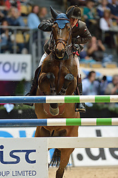 02.11.2013, Olympiahalle, Muenchen, GER, Munich Indoors, im Bild Robert Whitaker, GBR, auf Catwalk IV, // during the Munich Indoors at the Olympiahalle in Muenchen, Germany on 2013/11/02. EXPA Pictures © 2013, PhotoCredit: EXPA/ Eibner-Pressefoto/ Buthmann<br /> <br /> *****ATTENTION - OUT of GER*****