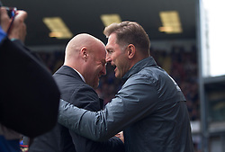 Burnley manager Sean Dyche (L) and Southampton manager Ralph Hasenhuttl - Mandatory by-line: Jack Phillips/JMP - 10/08/2019 - FOOTBALL - Turf Moor - Burnley, England - Burnley v Southampton - English Premier League