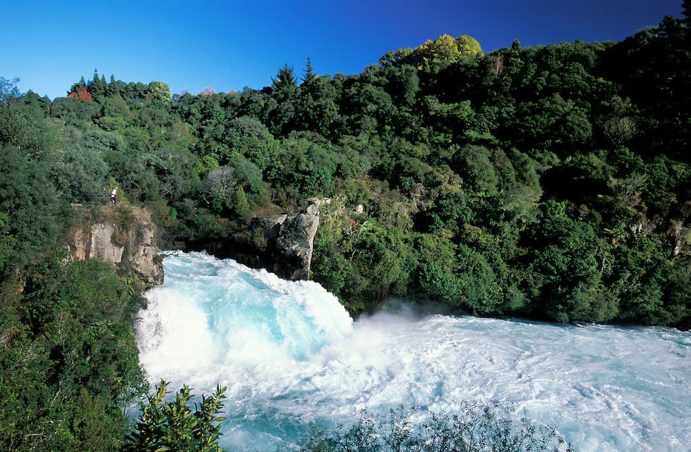 Huka Falls, Waikato River, Taupo, North Island, New Zealand