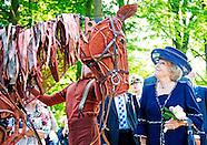Prinses Beatrix opent Paviljoen Nederland en de Eerste Wereldoorlog in Doorn
