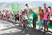 Fabio Aru (ITA, UAE Team Emirates) during the 73th Edition of the 2018 Tour of Spain, Vuelta Espana 2018, Stage 13 cycling race, Candas Carreno - La Camperona 174,8 km on September 7, 2018 in Spain - Photo Luca Bettini / BettiniPhoto / ProSportsImages / DPPI