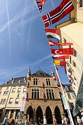 ECHTERNACH, LUXEMBOURG - SEPT-9-2012 - A street festival in Echternach, Luxembourg. (Photo © Jock Fistick)