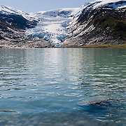 Three weeks aboard the Kong Harald. Hurtigruten, the Coastal Express. The Svartisen glacier
