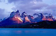 First Light, Torres del Paine National Park, Chile