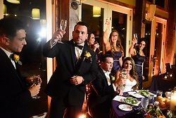 "EXCLUSIVE: 'Jersey Shore' alum, Deena Cortese reunited with her Jersey Shore castmates on Saturday as they showed up to celebrate with her and Chris Buckner. The Shore-studded wedding in Cortese's hometown of New Egypt, N.J. included guests Nicole ""Snooki"" Polizzi, Jenni ""JWoww"" Farley, Vinny Guadagnino, Paul ""DJ Pauly D"" DelVecchio, Sammi ""Sweetheart"" Giancola and Mike ""The Situation"" Sorrentino. 28 Oct 2017 Pictured: Deena Cortese, Chris Buckner,. Photo credit: Aaron Showalter / MEGA TheMegaAgency.com +1 888 505 6342"