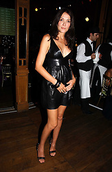 ANNABELLE NEILSON at the party Belle Epoque hosted by The Royal Parks Foundation and Champagne Perrier Jouet held at the Lido Lawns of the Serpentine, Hyde Park, London on 14th September 2006.<br />