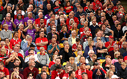 Bristol City fans at Norwich City - Mandatory by-line: Robbie Stephenson/JMP - 23/09/2017 - FOOTBALL - Carrow Road - Norwich, England - Norwich City v Bristol City - Sky Bet Championship