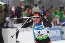 10.12.2011, Biathlonzentrum, Hochfilzen, AUT, E.ON IBU Weltcup, 2. Biathlon, Hochfilzen, Verfolgung Damen, im Bild Henkel Andrea (GER) // during E.ON IBU World Cup 2th Biathlon, Hochfilzen, Austria on 2011/12/10. EXPA Pictures © 2011. EXPA Pictures © 2011, PhotoCredit: EXPA/ nph/ Straubmeier..***** ATTENTION - OUT OF GER, CRO *****