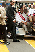 September 3, 2012- Brooklyn, New York:  Actor/Civil Rights Activist Harry Belafonte attends the 45th Annual West Indian Day Labor Day Celebration held on September 3, 2012 along Brooklyn's famed Eastern Parkway. It's one of New York City's most popular parades, a cultural festival that celebrates West Indian history, culture, music and food. Attended by as many as two million people. (Photo by Terrence Jennings)