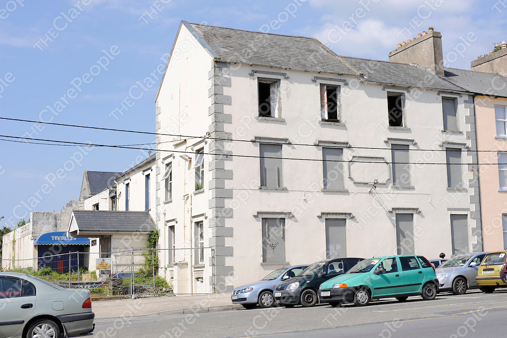 The former Inis Cathaig Hotel in Kilrush which was owned by Anthony Kelly.<br />