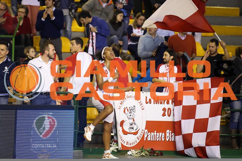 DESCRIZIONE : Lucca Lega A1 Femminile 2012-13 Final Four Coppa Italia 2013 Semifinale Gesam Gas Lucca Lavezzini Parma<br /> GIOCATORE : Mery Andrade<br /> SQUADRA : Gesam Gas Lucca<br /> EVENTO : Campionato Lega A1 Femminile 2012-2013 <br /> GARA : Gesam Gas Lucca Lavezzini Parma<br /> DATA : 09/03/2013<br /> CATEGORIA : esultanza<br /> SPORT : Pallacanestro <br /> AUTORE : Agenzia Ciamillo-Castoria/ElioCastoria<br /> Galleria : Lega Basket Femminile 2012-2013 <br /> Fotonotizia : Lucca Lega A1 Femminile 2012-13 Final Four Coppa Italia 2013 Semifinale Gesam Gas Lucca Lavezzini Parma<br /> Predefinita :