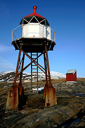Norway Hammerfest 24MAR07 - Small lighthouse in Hammerfest, the world's most northerly town...jre/Photo by Jiri Rezac..© Jiri Rezac 2007..Contact: +44 (0) 7050 110 417.Mobile:  +44 (0) 7801 337 683.Office:  +44 (0) 20 8968 9635..Email:   jiri@jirirezac.com.Web:    www.jirirezac.com..© All images Jiri Rezac 2007 - All rights reserved.