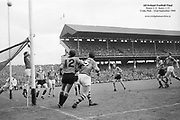 GAA All Ireland Minor Football Final Sligo v. Cork 22nd September 1968 Croke Park.<br /> <br /> <br /> No further caption available *** Local Caption *** It is important to note that under the COPYRIGHT AND RELATED RIGHTS ACT 2000 the copyright of these photographs are the property of the photographer and they cannot be copied, scanned, reproduced or electronically stored in any form whatsoever without the written permission of the photographer
