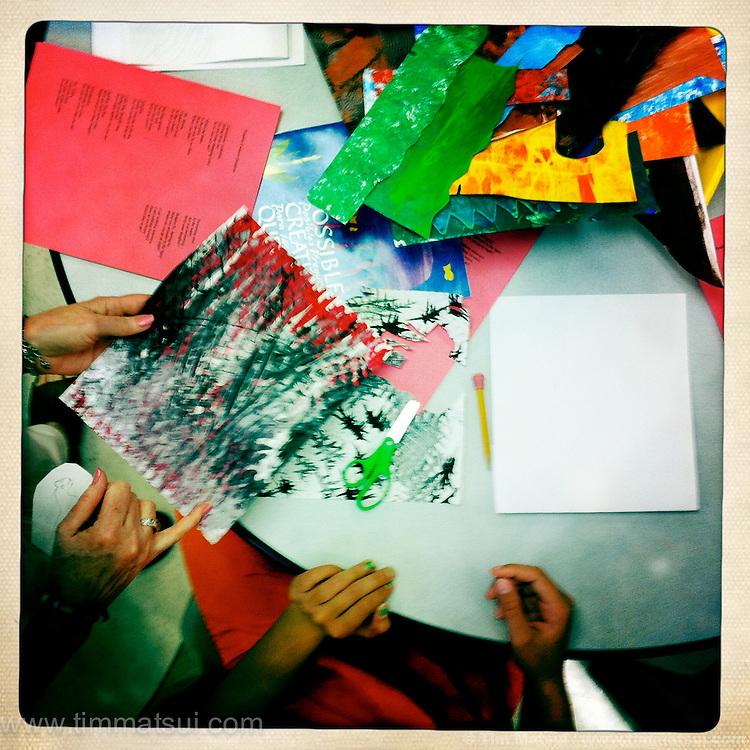 Youth art program at the Denney Juvenile Detention Center in Everett.
