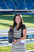 during the Silicon Valley Business Journal 40 Under 40 event at Avaya Stadium in San Jose, California, on July 31, 2018. (Stan Olszewski for Silicon Valley Business Journal)