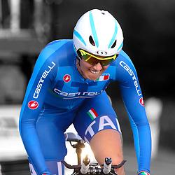 18-07-2016: Wielrennen: Thueringen Rundfahrt vrouwen: Zeulenroda<br />ZEULENRODA (DLD) wielrennen  <br />Francesa Pattaro