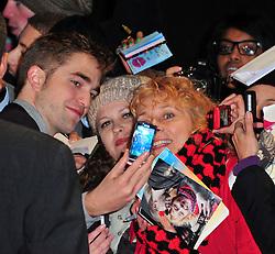 Robert Pattinson during the Twilight Saga: Breaking Dawn Part 2 UK film premiere, London, United Kingdom, November 14, 2012. Photo by Nils Jorgensen / i-Images..