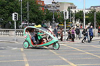 Eco cab in Dublin Ireland