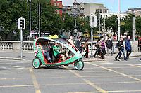 Eco cab in Dublin Ireland