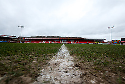 A general view of The Wham Stadium, home to Accrington Stanley - Mandatory by-line: Robbie Stephenson/JMP - 12/01/2019 - FOOTBALL - Wham Stadium - Accrington, England - Accrington Stanley v Bristol Rovers - Sky Bet League One
