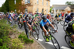 Dani Rowe (GBR) in the bunch at OVO Energy Women's Tour 2018 - Stage 4, a 130 km road race from Evesham to Worcester, United Kingdom on June 16, 2018. Photo by Sean Robinson/velofocus.com
