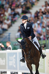 Karin Donckers, (BEL), Fletcha van t Verahof - Jumping Eventing - Alltech FEI World Equestrian Games™ 2014 - Normandy, France.<br /> © Hippo Foto Team - Jon Stroud<br /> 31-08-14