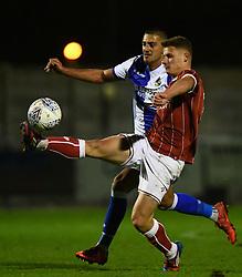 Cameron Pring of Bristol City controls the ball  - Mandatory by-line: Alex Davidson/JMP - 16/11/2017 - FOOTBALL - Woodspring Stadium - Weston-super-Mare, England - Bristol City U23 v Bristol Rovers U23 - Central League Cup