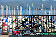 Bikes and boats, Payette Lake, McCall, Idaho