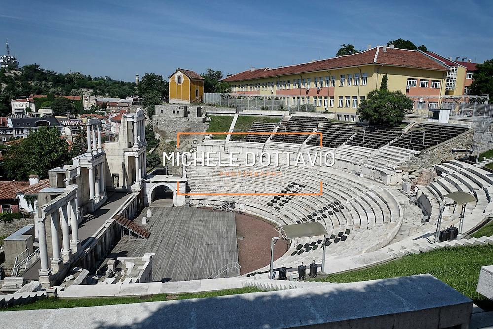 Plovdiv Roman Theatre, Bulgaria