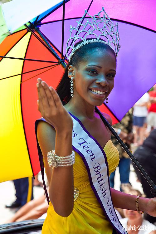 Miss Teen BVI Ashellica FAhie.  St. John Carnival 2012 © Aisha-Zakiya Boyd