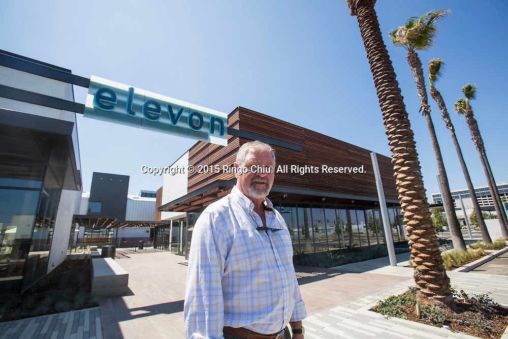 Alex J. Rose Senior Vice President, Development Continental Development Corporation, which is developing the ELEVON campus in El Segundo.<br /> Photo by Ringo Chiu/PHOTOFORMULA.com)