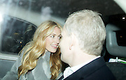 14.FEBRUARY.2014. LONDON<br /> <br /> CODE - ZK<br /> <br /> CAT DEELEY AND PATRICK KIELTY LEAVING NOBU IN CENTRAL LONDON<br /> <br /> BYLINE: EDBIMAGEARCHIVE.CO.UK<br /> <br /> *THIS IMAGE IS STRICTLY FOR UK NEWSPAPERS AND MAGAZINES ONLY*<br /> *FOR WORLD WIDE SALES AND WEB USE PLEASE CONTACT EDBIMAGEARCHIVE - 0208 954 5968*