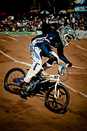 #971_VALENTINO Manon (FRA) on her way to winning the UCI BMX Supercross World Cup, Pietermaritzburg, 2011