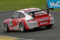 2009 Porsche Carrera Cup Great Britain.  Knockhill, Scotland, United Kingdom.  15th-16th August 2009.  (50) - Paul Hogarth - In2Racing.  World Copyright: Peter Taylor/PSP. Copy of publication required for printed pictures. Every used picture is fee-liable.