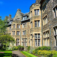 University&rsquo;s St Salvator&rsquo;s Hall in St Andrews, Scotland <br />