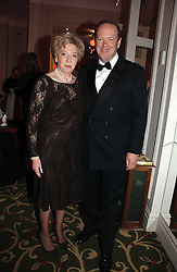 MR & MRS ALAN PARKER Chief Executive of Whitbread at the Costa Book Awards 2006 held at The Grosvenor House Hotel, Park Lane, London W1 on 7th February 2007.<br /><br />NON EXCLUSIVE - WORLD RIGHTS