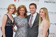 Eric Close and family on the red carpet for the inauguration of the Monte-Carlo Film Festival of Television. Monte-Carlo, 13 june 2015, Monaco