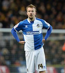 Chris Lines of Bristol Rovers - Mandatory byline: Alex James/JMP - 17/01/2016 - FOOTBALL - The Kassam Stadium - Oxford, England - Oxford United v Bristol Rovers - Sky Bet League Two