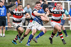 Pontypool v Bridgend  - Mandatory by-line: Craig Thomas/Replay images - 23/03/2019 - RUGBY - Pontypool Park - Pontypool, Wales - Pontypool v Bridgend - National Cup