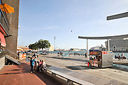 Barcelona marina and harbour, Spain