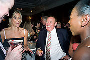 EMILY MAITLIS, ANDREW NEIL AND LUELLA BENJAMIN, The Spectator 180th Anniversary party, at the Churchill Hotel, London, 7 May 2008.  *** Local Caption *** -DO NOT ARCHIVE-© Copyright Photograph by Dafydd Jones. 248 Clapham Rd. London SW9 0PZ. Tel 0207 820 0771. www.dafjones.com.
