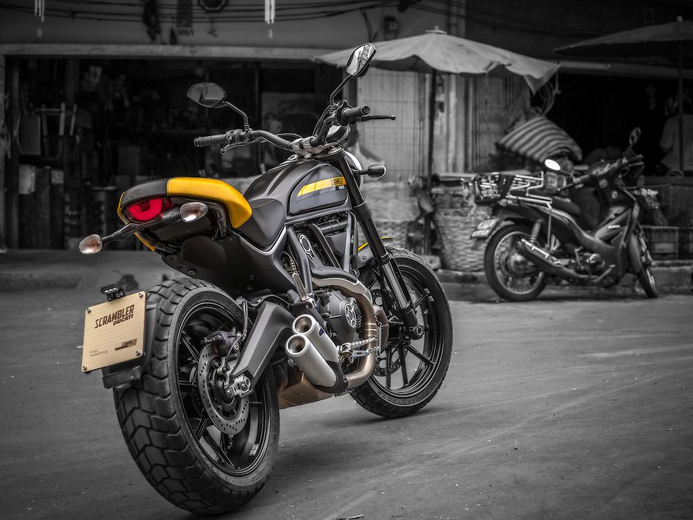 Scrambler Ducati Full Trottle
