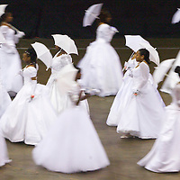 (PFEATURES) Asbury Park 4/23/2004  Debutantes at thes 54th Scholarship Ball of the Monmouth County Cotillion.  Michael J. Treola Staff Photographer.....MJT