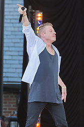 17.08.2013, New York, USA, ABC Show, Good Morning Amerika, im Bild Macklemore and Ryan Lewis Perform // during the ABC Show Good Morning Amerika in New York, Unites States of Amerika on 2013/08/17. EXPA Pictures © 2013, PhotoCredit: EXPA/ Newspix/ MediaPunch Inc<br /> <br /> ***** ATTENTION - for AUT, SLO, CRO, SRB, BIH, TUR, SUI and SWE only *****