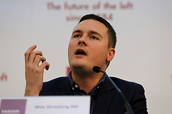 © Licensed to London News Pictures. 18/01/2020. London, UK. Labour Party Member of Parliament for Ilford North WES STREETING at the Fabian Society New Year conference in central London. Photo credit: Dinendra Haria/LNP