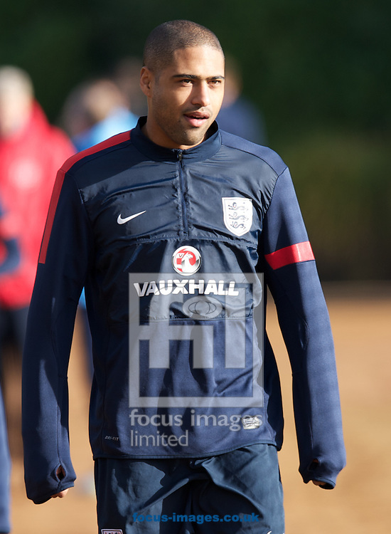 Picture by Alan Stanford/Focus Images Ltd +44 7915 056117<br /> 13/11/2013<br /> Glen Johnson pictured during England training at London Colney, London.