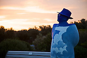 Sculpture By The Sea, Bondi, Sydney..The world's largest annual free-to-the-public outdoor sculpture exhibition, Sculpture by the Sea, Bondi  was launched today 18.10.12..The Optimist