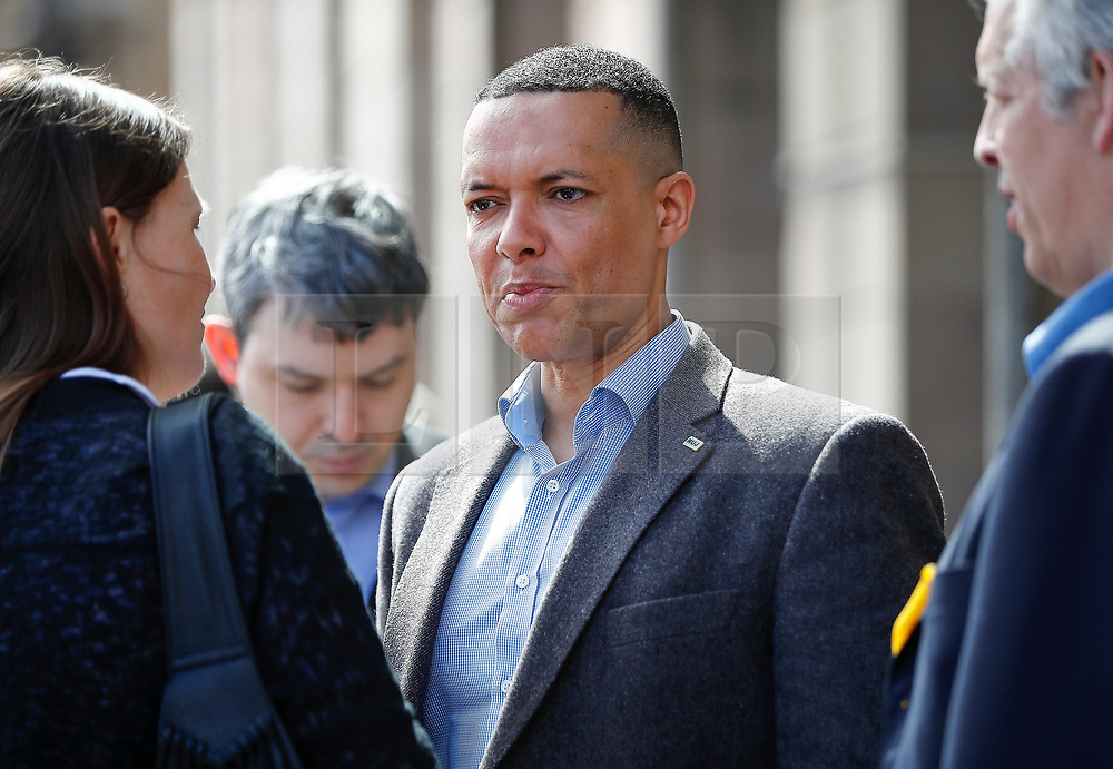 © Licensed to London News Pictures. 18/04/2017. London, UK. Labour MP CLIVE LEWIS seen at the Houses of Parliament on the day that British Prime Minister Theresa May announced a snap general election for June 8th, 2017. Photo credit: Tolga Akmen/LNP